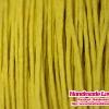 เชือกคอตตอน ขนาด 1 mm. สีเหลือง