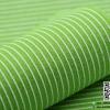 ผ้าสักหลาด พิมพ์ลายเส้น สีเขียวใบตองอ่อน
