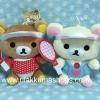 ตุ๊กตาน้องหมี Rilakkuma และ Korilakkuma ชุดเทนนิส (ราคาต่อคู่คะ)
