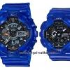นาฬิกา Casio G-SHOCK x BABY-G คู่เจลลี่ใส เซ็ตคู่รัก CORAL REEF series รุ่น GA-110CR-2A x BA-110CR-2A Pair set (เจลลี่สีน้ำทะเล) ของแท้ รับประกัน 1 ปี
