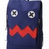 กระเป๋าสะพายหลัง แฟชั่น J247 สีน้ำเงิน