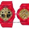นาฬิกา Casio G-SHOCK x BABY-G เซ็ตคู่รัก Limited Valentine Love 2018 รุ่น GA-100VLA-4A x BGA-195VLA-4A Pair set ของแท้ รับประกัน 1 ปี