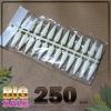 เล็บปลอม ทรงแหลมยาว ขนาดเท่ากันทุกเล็บ 240 เล็บ ใช้ทาตัวอย่างสีทาเล็บ