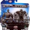 Jakks Real Steel Movie DELUXE Action Figure 2Pack Atom vs Zeus NEW
