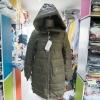 เสื้อโค้ทกันหนาว สีเขียวขี้ม้า ผ้าหนาพรีเมียม ลุยหิมะสบายๆ