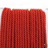 เชือกเกลียว สีแดง [10] ขนาด 3 mm.