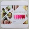 สีเจลทาเล็บ KERIDE ชุดโทนสีชมพูบานเย็น รวม 6สี
