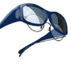 Wrap Rx™ Safety Glasses 91115 gray lens