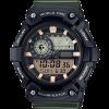 นาฬิกา Casio STANDARD Analog-Digital AEQ-200 series รุ่น AEQ-200W-3AV ของแท้ รับประกัน 1 ปี