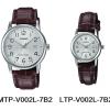 นาฬิกา คาสิโอ Casio SETคู่รัก รุ่น MTP-V002L-7B2+LTP-V002L-7B2 ของแท้ รับประกัน 1 ปี