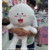 ตุ๊กตาไลน์ Line ลาย โคนี่ Cony ขนาดใหญ่ 80 cm