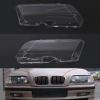 พลาสติกครอบเลนส์ไฟหน้า ฝาครอบไฟหน้า ไฟหน้ารถยนต์ เลนส์โคมไฟหน้า BMW E46 ไฟตก