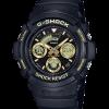 นาฬิกา Casio G-Shock Special Color BLACK&GOLD XTRA Color series รุ่น AW-591GBX-1A9 ของแท้ รับประกัน1ปี
