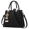 ***พร้อมส่ง*** กระเป๋าหนังแฟชั่นสตรี รหัส BV-1607 (B6-035) สีดำ สไตล์เกาหลี สำหรับ สุภาพสตรีทันสมัย ราคาไม่แพง