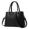 ***พร้อมส่ง*** กระเป๋าหนังแฟชั่นสตรี รหัส BV-0230 (B6-044) สีดำ สไตล์เกาหลี สำหรับ สุภาพสตรีทันสมัย ราคาไม่แพง