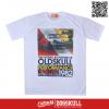 เสื้อยืด OLDSKULL : EXPRESS 38 | WHTE XL