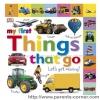 หนังสือ My first Things that go : DK books