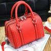 ***พร้อมส่ง*** กระเป๋าหนังแฟชั่นสตรี รหัส BV-0863 (B6-043) สีแดง สไตล์เกาหลี สำหรับ สุภาพสตรีทันสมัย ราคาไม่แพง