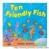 หนังสือเด็กภาษาอังกฤษ สอนน้องนับเลข Ten Friendly Fish