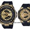 นาฬิกา Casio G-SHOCK x BABY-G คู่เหล็กSteel เซ็ตคู่รัก G-STEEL x G-MS series รุ่น GST-400G-1A9 x MSG-400G-1A2 Pair set ของแท้ รับประกัน 1 ปี
