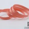 ริบบิ้นผ้ากรอสเกน สีส้มอิฐโอรส ขนาด 6 mm.