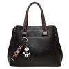 ***พร้อมส่ง*** Lady Choices Bangkok กระเป๋าหนังแฟชั่นสตรี รหัส BV-6609 (B6-044) สีดำ สไตล์เกาหลี สำหรับ สุภาพสตรีทันสมัย ราคาไม่แพง