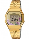 นาฬิกา Casio STANDARD DIGITAL LA680 Floral Dial series รุ่น LA680WGA-4C ของแท้ รับประกัน 1 ปี