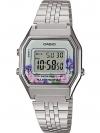 นาฬิกา Casio STANDARD DIGITAL LA680 Floral Dial series รุ่น LA680WA-4C ของแท้ รับประกัน 1 ปี