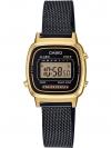 นาฬิกา Casio STANDARD DIGITAL LA670WEM Milanese series รุ่น LA670WEMB-1 (สายแบบถัก) ของแท้ รับประกัน 1 ปี