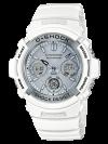 นาฬิกา Casio G-Shock Special Color รุ่น AWG-M100SMW-7A (ไม่วางขายในไทย) ของแท้ รับประกัน1ปี
