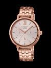 นาฬิกา คาสิโอ Casio SHEEN MULTI-HAND SHE-3064 series รุ่น SHE-3064PG-4A ของแท้ รับประกัน1ปี