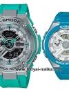 นาฬิกา Casio G-SHOCK x BABY-G คู่เหล็กSteel เซ็ตคู่รัก G-STEEL x G-MS series รุ่น GST-410-2A x MSG-400-2A Pair set ของแท้ รับประกัน 1 ปี