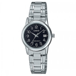 นาฬิกา Casio STANDARD Analog-Ladies' รุ่น LTP-V002D-1B ของแท้ รับประกัน 1 ปี