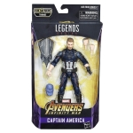 Marvel Legends Series Avengers Infinity War Captain America 6-inch Lot Japan NEW
