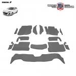 พรมกระดุม Super Save รถ MAZDA 3 (BL) 4-5 Door ปี 2011-2014 ชุด Full จำนวน 14 ชิ้น