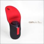 ซองใส่เลนส์กล้อง กระเป๋าใส่เลนส์ (Lens Pouch) Cam-in ขนาด 100x160 mm