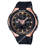 """นาฬิกา Casio Baby-G G-MS """"G-Steel Lady"""" MSG-400G series รุ่น MSG-400G-1A1 ดำพิ้งค์โกลด์ (ไม่วางขายในไทย) ของแท้ รับประกัน1ปี"""