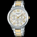นาฬิกา คาสิโอ Casio SHEEN MULTI-HAND SHE-3058 series รุ่น SHE-3058SG-7A ของแท้ รับประกัน1ปี