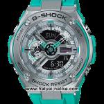 นาฬิกา Casio G-Shock G-STEEL Special Color GST-410 series รุ่น GST-410-2A สีฟ้าเทอร์ควอยซ์ (สีพิเศษไม่วางขายในไทย) ของแท้ รับประกัน1ปี