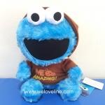 ุตุ๊กตา Cookie monster แต่งตัว จาก Sesame Street ขนาด 7 นิ้ว