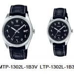 นาฬิกา คาสิโอ Casio SETคู่รัก รุ่น MTP-1302L-1B3V+LTP-1302L-1B3V ของแท้ รับประกัน 1 ปี