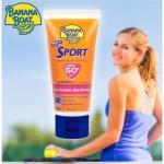 Banana boat sport sunscreen lotion spf50 90ml กันแดด เล่นกีฬา กันน้ำ