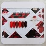 สีเจลทาเล็บ KERIDE ชุดโทนแดง Rad Wine Polish รวม 6สี