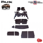 พรมรถยนต์ 6D Leather Car Mat จำนวน 10 ชิ้น ISUZU MU-X