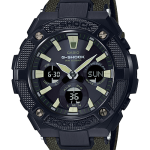 นาฬิกา Casio G-Shock G-STEEL รุ่น GST-S130BC-1A3 (สายผ้า CORDURA สีเขียว) ของแท้ รับประกัน1ปี
