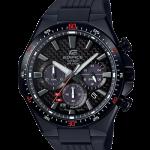 นาฬิกา Casio EDIFICE CHRONOGRAPH Carbon Fober&Solar Powered รุ่น EQS-800CPB-1AV ของแท้ รับประกัน 1 ปี