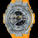 นาฬิกา Casio G-Shock G-STEEL Limited Color GST-410 series รุ่น GST-410-9A สีเหลือง (สีผลิตจำกัดไม่วางขายในไทย) ของแท้ รับประกัน1ปี
