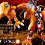Digivolving Spirits 01 WarGreymon Kanzen Henkei Figure Digimon Adventure NEW