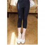 กางเกงเลคกิ้งสีดำเด็กโต size 120-160 P84-106