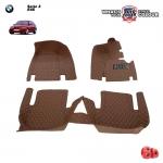พรมเข้ารูป 6 D Leather Car Mat จำนวน 3 ชิ้น BMW Serie 3 E46 (318I , 320I , 325I)
